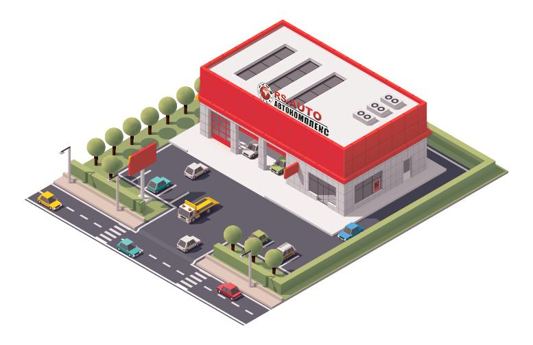 Торгово-сервисный центр РСавто